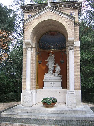 Gardens of Vatican City - Our Lady of the Watch