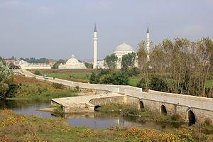 Yalnızgöz Bridge - Yalnızgöz Bridge over the Tunca in Edirne.