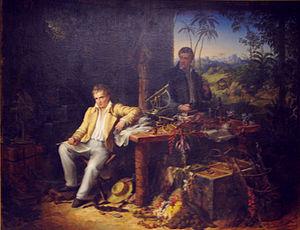 Eduard Ender - Alexander von Humboldt and Aimé Bonpland by Eduard Ender