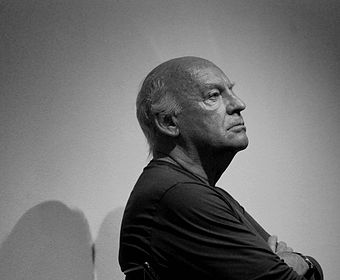The writer Eduardo Galeano. Eduardo Galeano - conferenza Vicenza 2.jpg