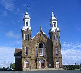 Villes et villages en cartes postales anciennes .. - Page 34 280px-Eglise_Paquetville