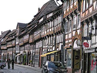 Einbeck - North side of Tiedexer Straße