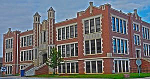 El Reno High School - Image: El Reno High School