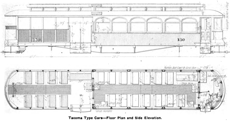 file electric railway review tacoma floor. Black Bedroom Furniture Sets. Home Design Ideas