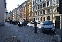 Electric Vehicle Charging Point at Stockholm City, Sweden DSC 5691.jpg