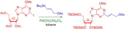 Addition to a heterocycle