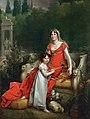 Elisa Bonaparte with her daughter Napoleona Baciocchi - François Gérard - Google Cultural InstituteFXD.jpg