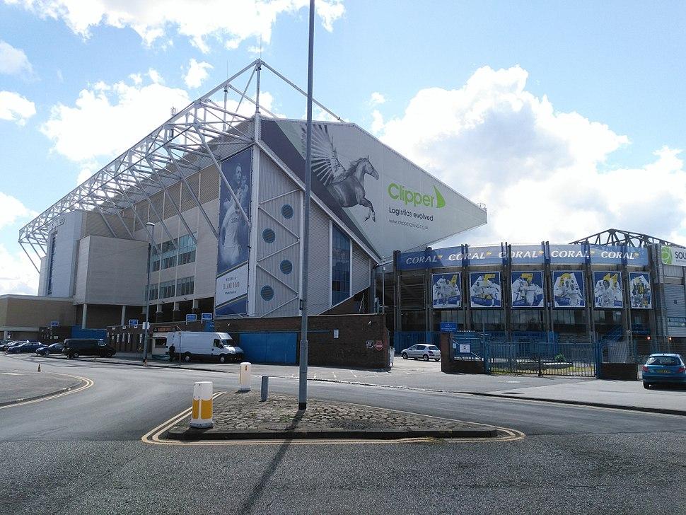Elland Road East Stand & North East Corner