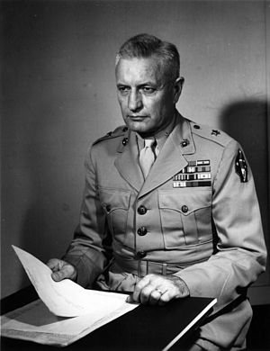 Elmer E. Hall - Hall as Brigadier General, USMC