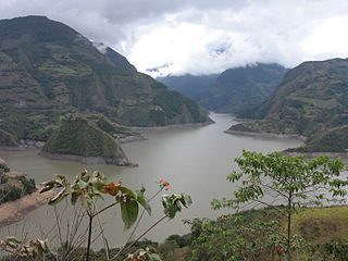 dam in Colombia