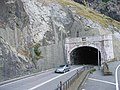 Emerging from the eastbound tunnel at Penmaen-bach - geograph.org.uk - 226801.jpg