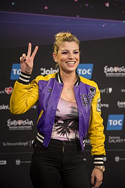 Emma Marrone, ESC2014 Meet & Greet 10.jpg