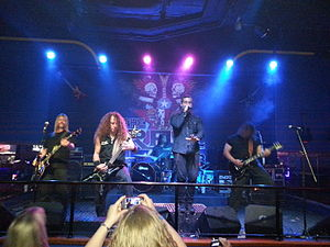 Randy Cooper - Cooper performing with American rock band Emperors and Elephants