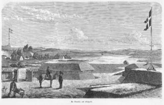 Battle of Mysunde (1864) - A Bastion at Mysunde