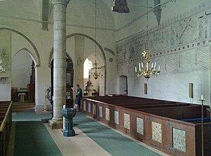 Endre Church - Image: Endre kyrka Gotland interioer 3