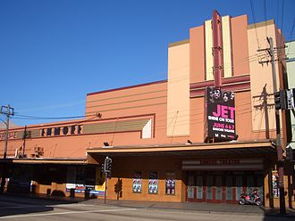 Enmore, New South Wales - The Art Deco style of the Enmore Theatre, Enmore Road