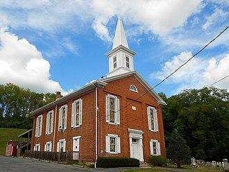 Jackson Township, Huntingdon County, Pennsylvania - Image: Ennisville United Methodist Huntingdon Co PA