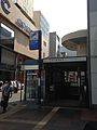 Entrance East No.2 of Hakata Station (Fukuoka Municipal Subway) beside Chikushi Entrance of JR Hakata Station.jpg