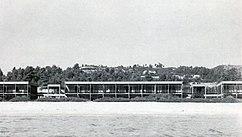 Hotel Xenia en Paliouri. Chalkidice (1962)