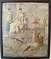 Eracle e onfale, da scavo del principe di montenegro, pompei, 9000.JPG