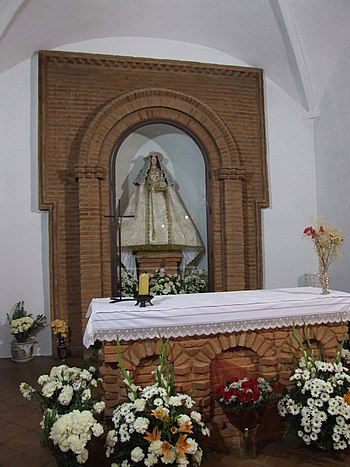 Altar románico Virgen del Monte
