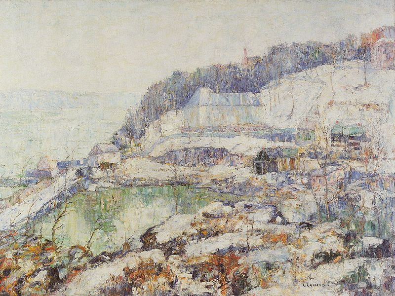 File:Ernest Lawson - The Hudson at Inwood (c. 1917).jpg