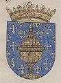 Escudo da Galiza no armorial Excudos de armas (1598-1621).jpg