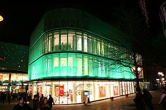 Deichmann SE - The Deichmann flagship store in Essen, Germany