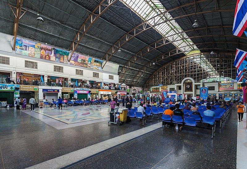 File:Estación de FF.CC., Bangkok, Tailandia, 2013-08-23, DD 07.jpg