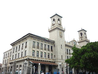 Havana Central railway station - Exterior facade of the station building