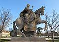 Estatua de la emperatriz María Teresa a caballo.Jardines Palacio de Grassalkovich - Bratislava - República Eslovaca (7091106135).jpg