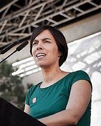 Esther Vivas en la presentació del Procés Constituent a Barcelona, octubre 2013.jpg