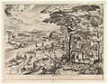 Euntes in Emaus (Landscape with Pilgrims at Emmaus) from the series The Large Landscapes MET DP826023.jpg