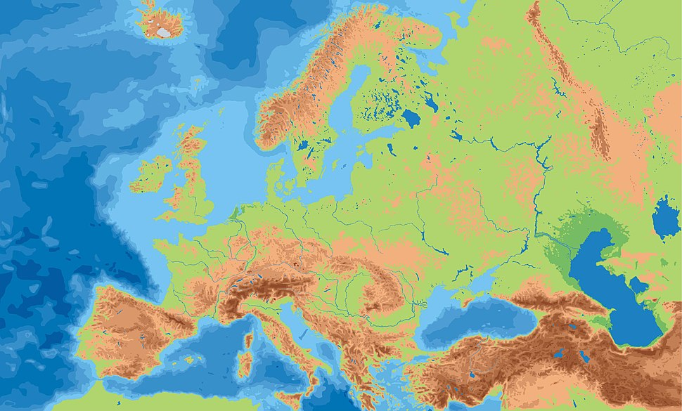 Europe geographycal hires