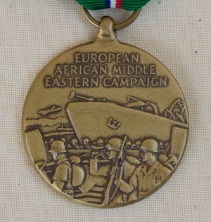 European–African–Middle Eastern Campaign Medal - Obverse