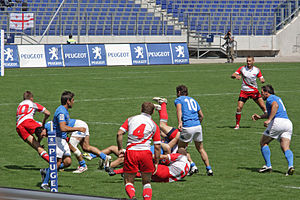 Rugby union in Poland - Italy vs Poland, 2008 European Rugby Sevens