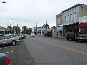 Eutaw, Alabama - Downtown Eutaw, Alabama