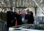 Ex-president Carter visits USS Carl Vinson 130222-N-TZ605-982.jpg