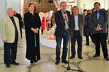 Exhibition Theater and Film painter in Palace of Art 14.04.2015 Leanid Khobatau.JPG
