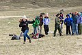 """Expedition Yellowstone group playing """"Run and Scream,"""" a Blackeet game (46975527474).jpg"""