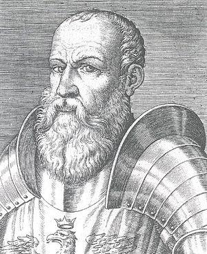 Ezzelino III da Romano - 16th century woodcut of Ezzelino III da Romano.