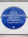FELIX MENDELSSOHN 1809-1847 Composer stayed here.jpg