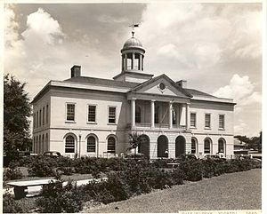 United States Courthouse (Tallahassee) - The Courthouse as it appeared in 1937.