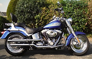 Harley davidson fl wikivividly harley davidson flstf fat boy fandeluxe Choice Image