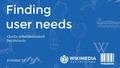 FOSDEM'17 Finding User Needs.pdf