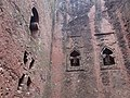 Facade and Niches - Bet Debre Sina (Bet Mikael) Rock-Hewn Church - Lalibela - Ethiopia (8724866581).jpg