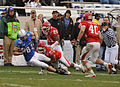 Falcons on offense at 2009 Armed Forces Bowl 4.jpg