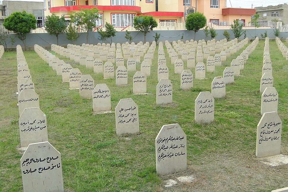 Family Graves for Victims of 1988 Chemical Attack - Halabja - Kurdistan - Iraq