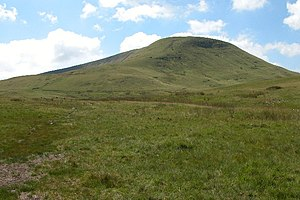 Fforest Fawr - Fan Fawr is the highest summit in the Fforest Fawr area