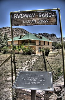 Faraway Ranch Historic District United States historic place